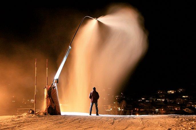 Alpinal - Saint-Gobain PAM - snow gun - snow cannons