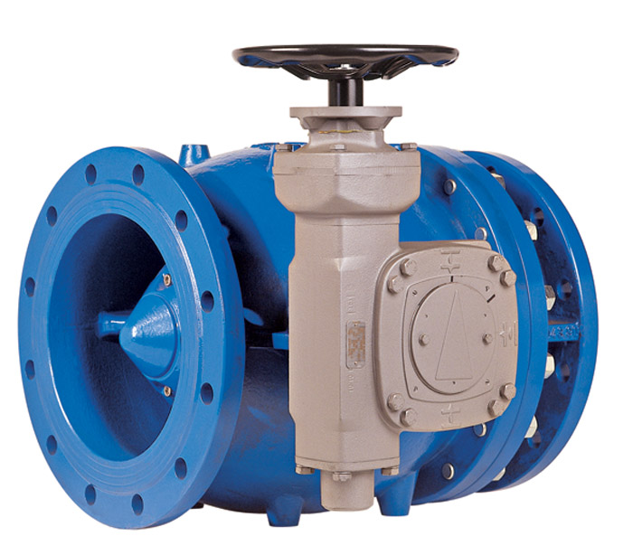 modulate water flow rate, needle valve