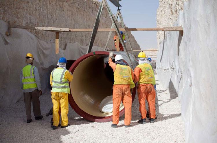 Reference: Sewerage Network, Doha North - Qatar | Saint-Gobain PAM