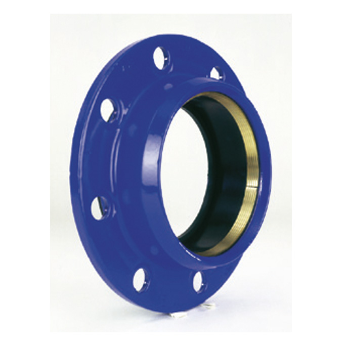 Quick PVC: anchoring flange adaptor for PVC pipe