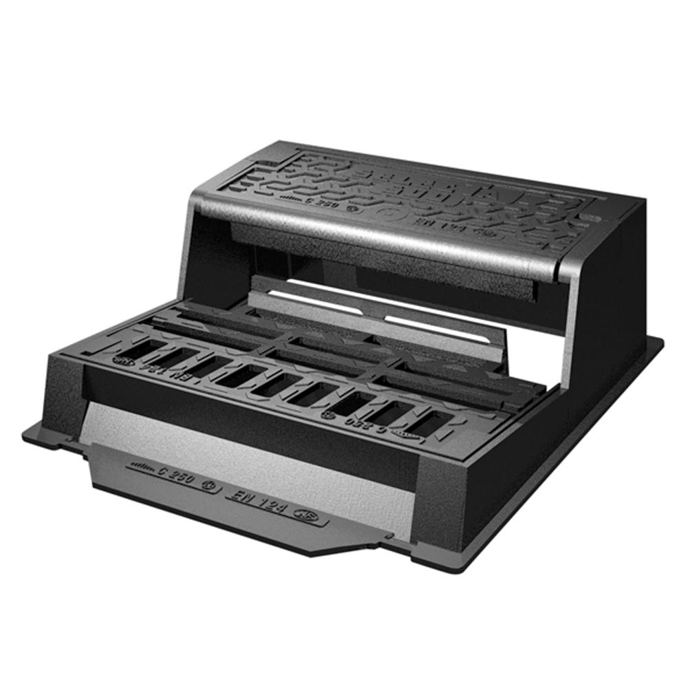 Kerb grating SELECTA 500 - Compact and high-capacity