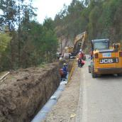 pipelaying operation peru