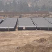 ductile iron pipes, peru water project