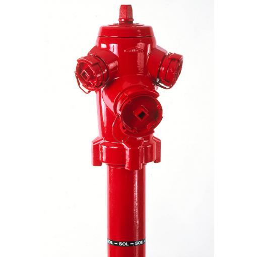 C9 Plus pillar fire hydrant - Saint-Gobain PAM - fire protection