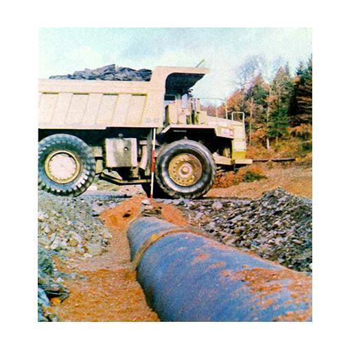 Ductile iron pipe resistance underloads