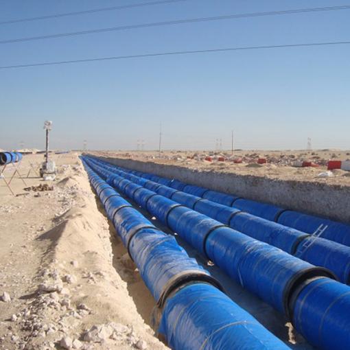 ductile iron pipeline