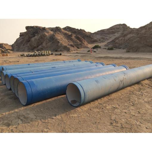 ductile iron pipes, water supply africa