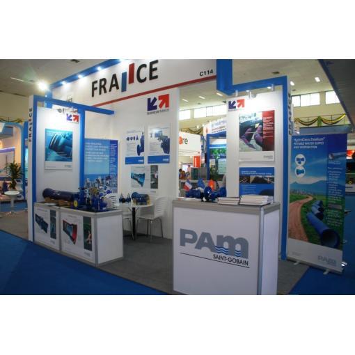 vietnam exhibition, water distribution event