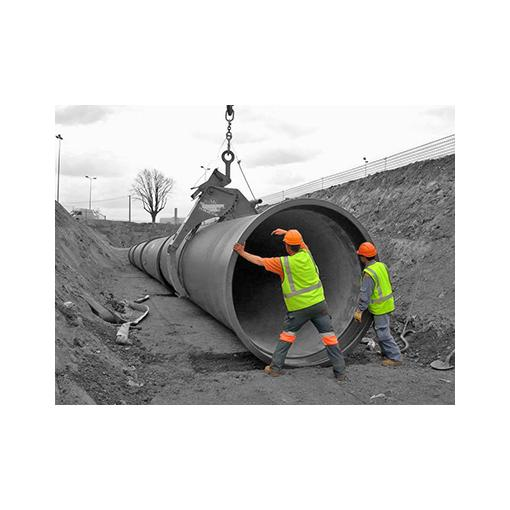 Assistance for ductile iron pipe installation