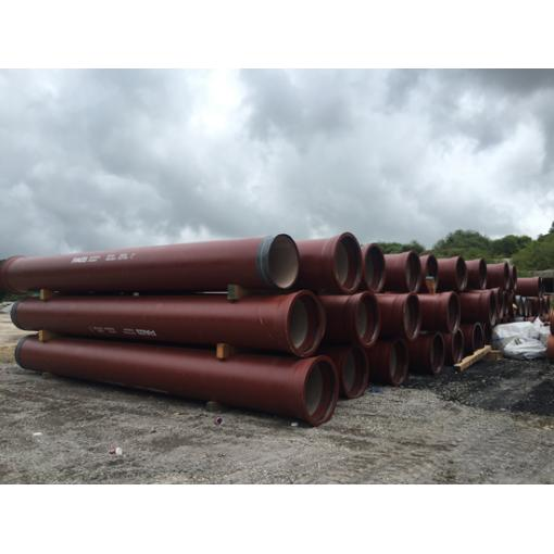 Integral ductile iron pipes - Cork Harbour Project in Ireland