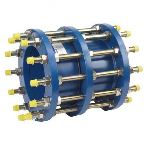 Dismantling joint for flanged valve