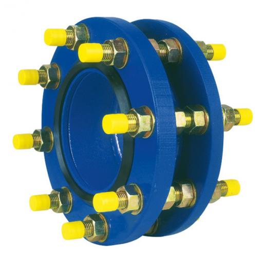 self-restrained dismantling joint for flanged valve - adjustable of 8 to 14 mm