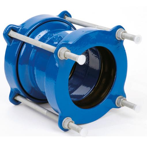 Broad tolerance coupling - UltraLINK for cast iron, steel, pvc pipes