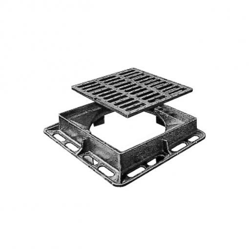 Communal grating (sloping frame) - C250