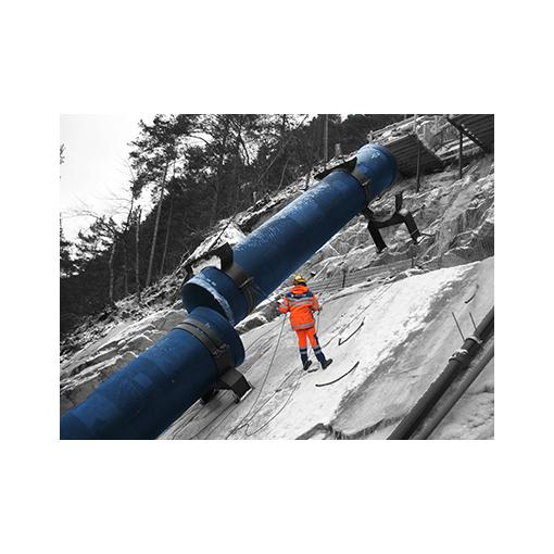 Ductile iron pipe installation