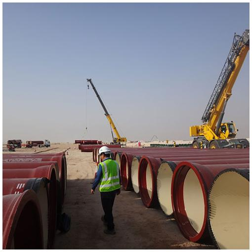 ductile iron pipe quality inspection