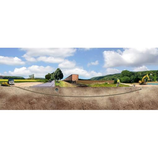 Trenchless pipelaying - ductile iron pipe - water - Saint-Gobain PAM