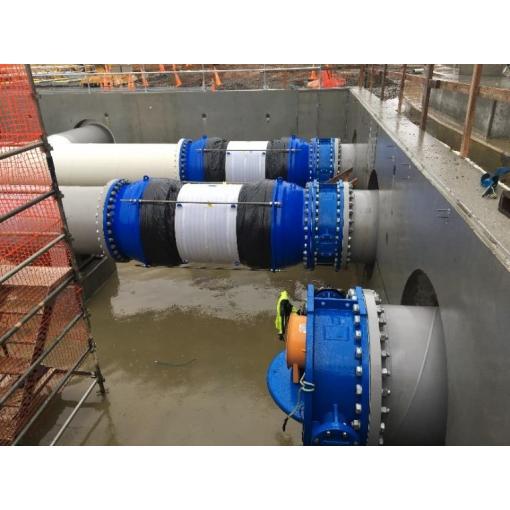 New Zealand - Pukekohe Reservoir - GEOFLEX DN1200