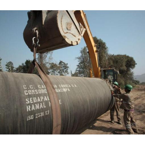 Pipe handling, pipe installation