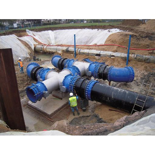 EUROSTOP - butterfly valve - isolating - water - Saint-Gobain PAM