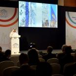 speaker at the 350 year anniversary event in abu dhabi