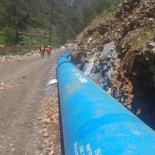 Natural Universal Ve Ductile Iron Pipes - Hydropower Rapaz II Project