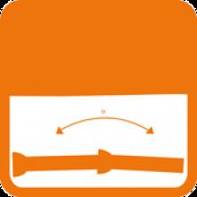 Joint automatique - déviation angulaire des canalisations en fonte ductile PAM