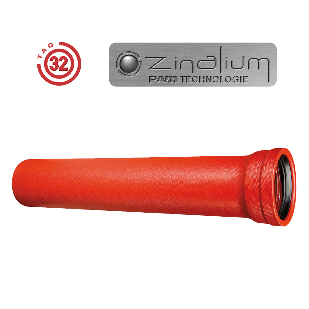 Revêtement ZINALIUM ® - Tuyau de la gamme TAG32