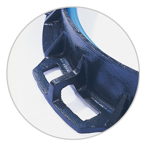 no risk of deformation under intense and rough traffic conditions, rigidifying rings