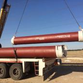 treated water, ductile iron pipelines
