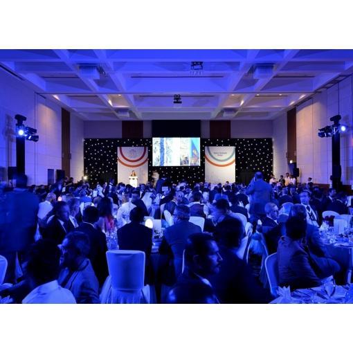 saint gobain anniversary event Abu Dhabi