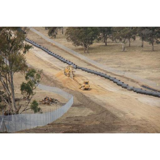 raw water project in australia, ductile iron pipes