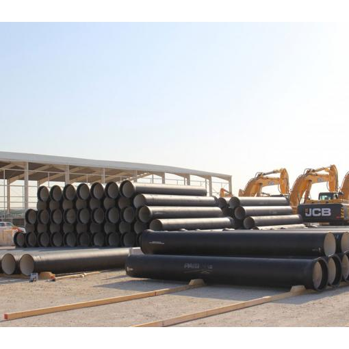 distribution center in qatar, ductile iron product,