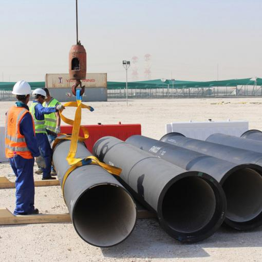 ductile iron pipes qatar
