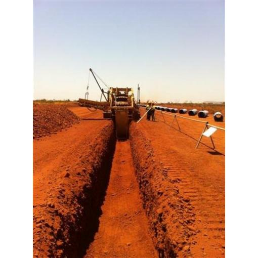 excavation pipelaying