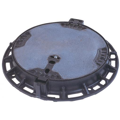 PAMREX 600 manhole cover - Safety with concrete infilled cover